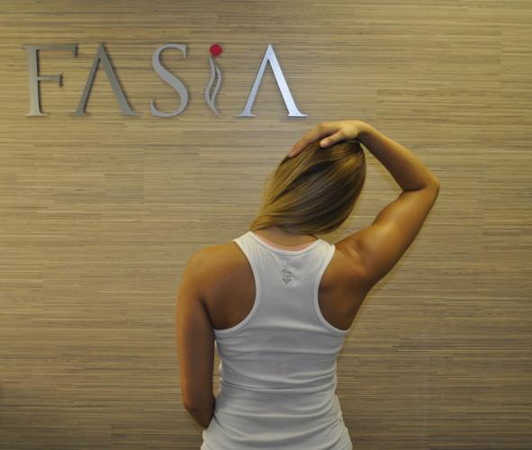 Tøyning av nakke, FASiA osteopati