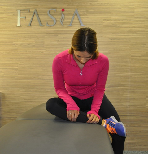 Tøyning av sete 2, FASiA osteopati